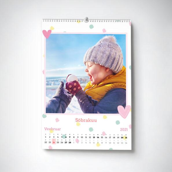 Hooaeg kalender A4 portrait