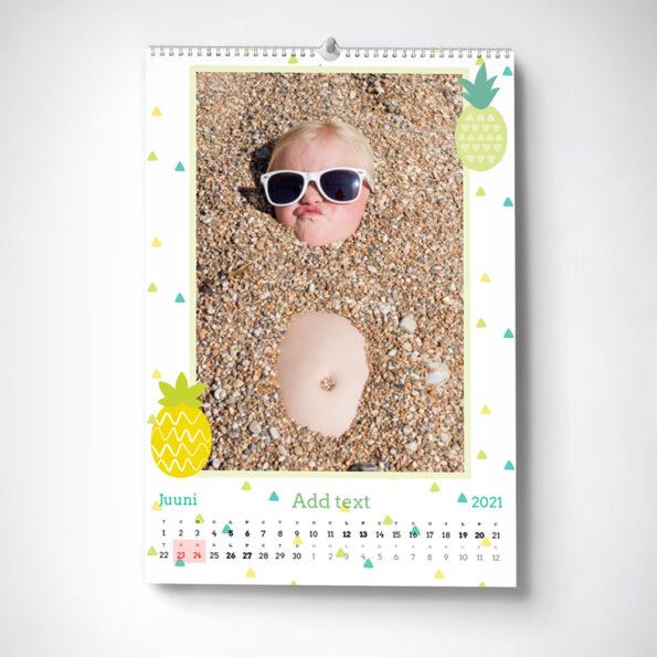 Kalender Hooaeg A4 portrait
