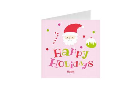 Postkaart Happy Holidays