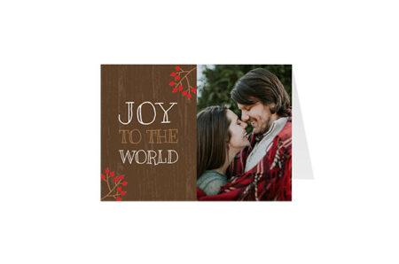 Postkaart Joy To the World