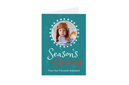 Postkaart Seasons Greetings