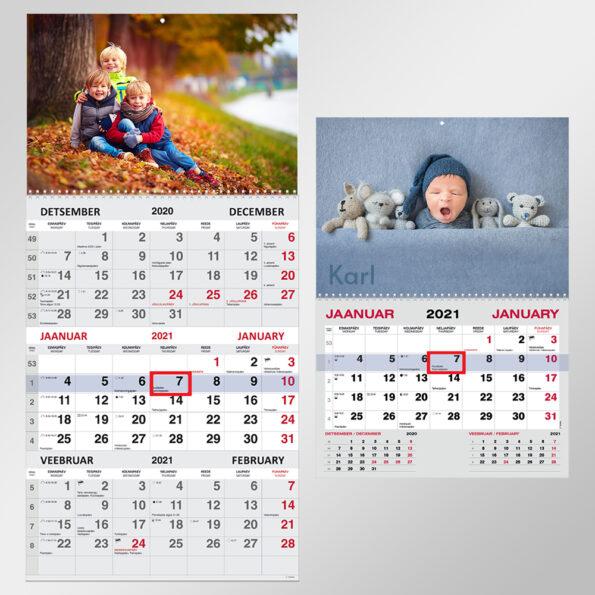 Mono ja Trio kalender