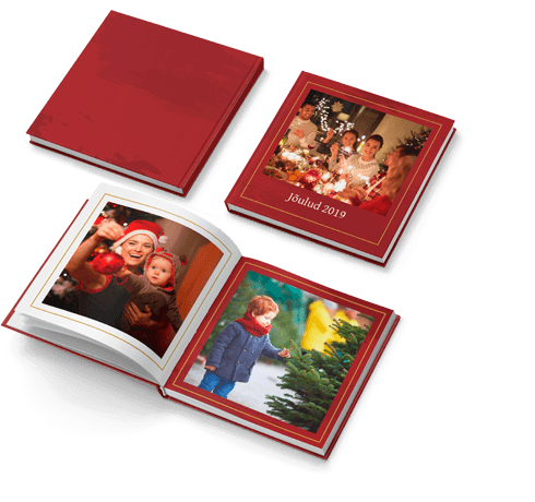 Fotoraamat Punane ja Kuldne