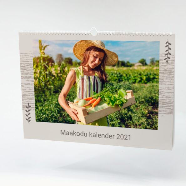 Kalender Maale A3 landscapejpg kaas
