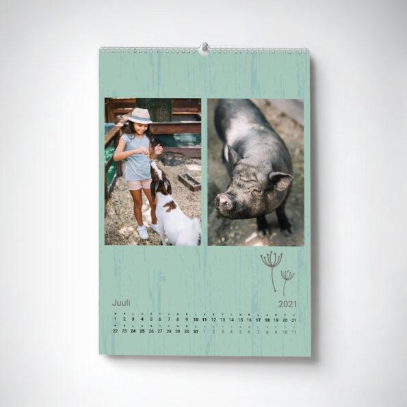Kalender Maale A4 horisontaalne 3