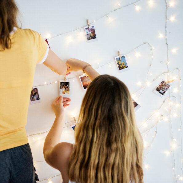 Polaroid stiilis fotod